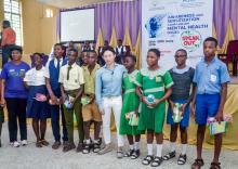 Event at Ikeja Senior Grammar School, Bolade, Oshodi, Lagos
